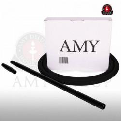 AMY Siliconen slang set - Zwart