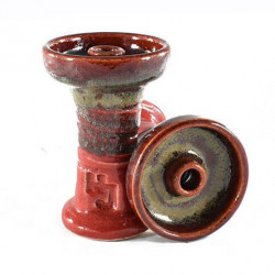 Hookah John 80 Feet Espana Bowl - Red Eye