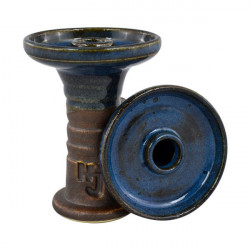 Hookah John Retro Harmony Bowl - Blue Nut