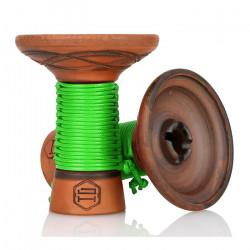 Japona Hookah Mummy Bowl - Green