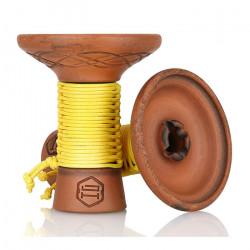 Japona Hookah Mummy Bowl - Yellow