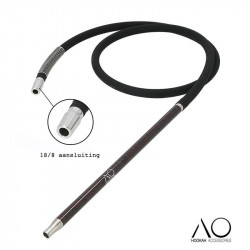 AO Carbon slang set - Black / Red
